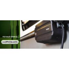 Автоматическая дверь для микроавтобуса, реечный привод КРОКО (Iveco Daily). Оптима.