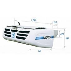 Холодильная установка Zanotti DFZ 425 с приводом от автономного дизельного двигателя.