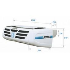 Холодильная установка Zanotti DFZ 430 с приводом от автономного дизельного двигателя.