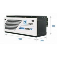 Холодильная установка Zanotti DFZ 495 с приводом от автономного дизельного двигателя.