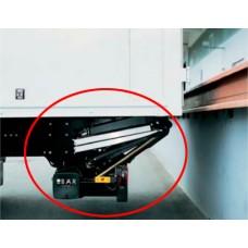 Гидроборт Bar серии RetFalt, модель BC 2000 R41 грузоподъемностью 2000 кг для среднего и тяжелого класса транспортных средств.