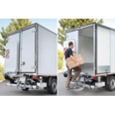 Гидроборт Bar серии FreeAccess, модель BC 600 A2V грузоподъемностью 600 кг для легкого класса транспортных средств.