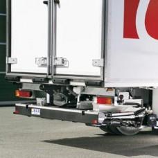 Гидроборт Bar серии Ret/HydFalt, модель BC 2000 H42 грузоподъемностью 2000 кг для среднего и тяжелого класса транспортных средств.