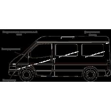 Кондиционер на FIAT DUCATO (Фиат Дукато) серии KST| Автокондиционер- моноблок, крышный, 6 кВт, центральное распределение воздуха.