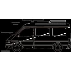 Кондиционер на FIAT DUCATO (Фиат Дукато) серии KST| Автокондиционер- моноблок, крышный, 9 кВт, боковое распределение воздуха.