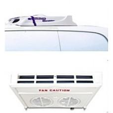 Холодильная установка Thermal 400 H (режим обогрева) с приводом от двигателя автомобиля (*доп.опция — R- накрышное расположение).