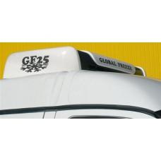 Холодильная установка Global Freeze GF 25H «холод-тепло» (* дополнительные опции - GF 25 TOP - крышный вариант конденсатора- GF 25 — только «холод» - 20°C- GF 25HD – с автономным отопителем- GF 25D- под установку автономного отопителя).
