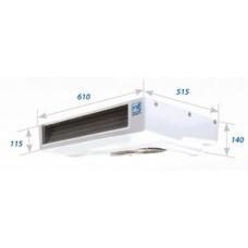 Холодильная установка Zanotti SFZ 258 с приводом от двигателя автомобиля.