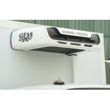 Холодильная установка Global Freeze GF 35H «холод-тепло» (* дополнительные опции - GF 35 TOP - крышный вариант конденсатора- GF 35 — только «холод» - 20°C- GF 35HD – с автономным отопителем- GF 35D- под установку автономного отопителя).