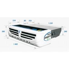 Холодильная установка Zanotti UFZ 348 с приводом от двигателя автомобиля.