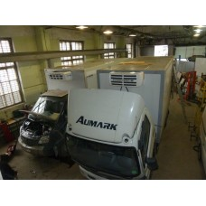 Холодильная установка Thermal 2500 H (режим обогрева) с приводом от двигателя автомобиля (*доп.опция - SE — электрическая стояночная секция).