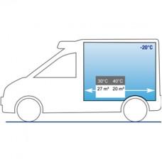 Холодильная установка Cаrrier XARIOS 600Т (режим обогрева) с приводом от двигателя автомобиля (* дорожно-стояночный режим и мульти-температурный — доп. опция).