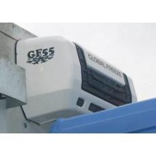 Холодильная установка Global Freeze GF 55H «холод-тепло» (* дополнительные опции - GF 55 TOP - крышный вариант конденсатора- GF 55 — только «холод» - 20°C- GF 55HD – с автономным отопителем- GF 55D- под установку автономного отопителя).
