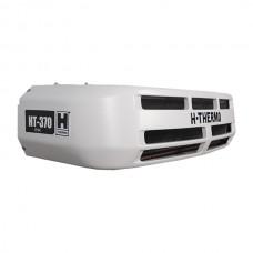 Холодильная установка H-THERMO HT-370H с приводом от двигателя автомобиля, холод/тепло (*опционные варианты — HT-370HESC – со стояночным приводом- HT-370 — только холод до — 20°C- НТ-370HRT- крышный вариант расположения).