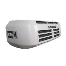Холодильная установка H-THERMO HT-450H с приводом от двигателя автомобиля, холод/тепло (*опционные варианты — HT-450HESC – со стояночным приводом- HT-450 — только холод до — 20°C- НТ-450HRT- крышный вариант расположения).