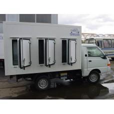 Холодильная установка Thermo King V-300 MAX 20 для малых грузовиков, автофургонов, с функцией резервного электропитания.