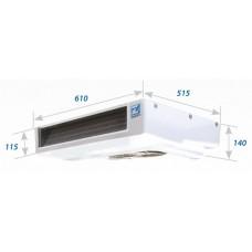 Холодильная установка Zanotti Zero 12 с приводом от генератора автомобиля.