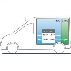Электрическая холодильная установка Cаrrier Pulsor 350 для малых и средних грузовиков и автофургонов.
