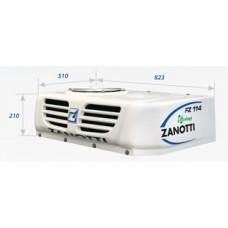Холодильная установка Zanotti SFZ 114 с приводом от генератора автомобиля.