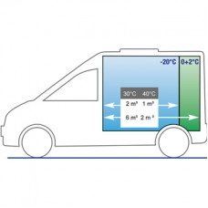 Электрическая холодильная установка Cаrrier Neos 100 для малых грузовиков и автофургонов.